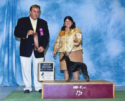 Captain Bred By Exhibitor Group 2