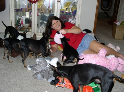 Puppies and Tammy